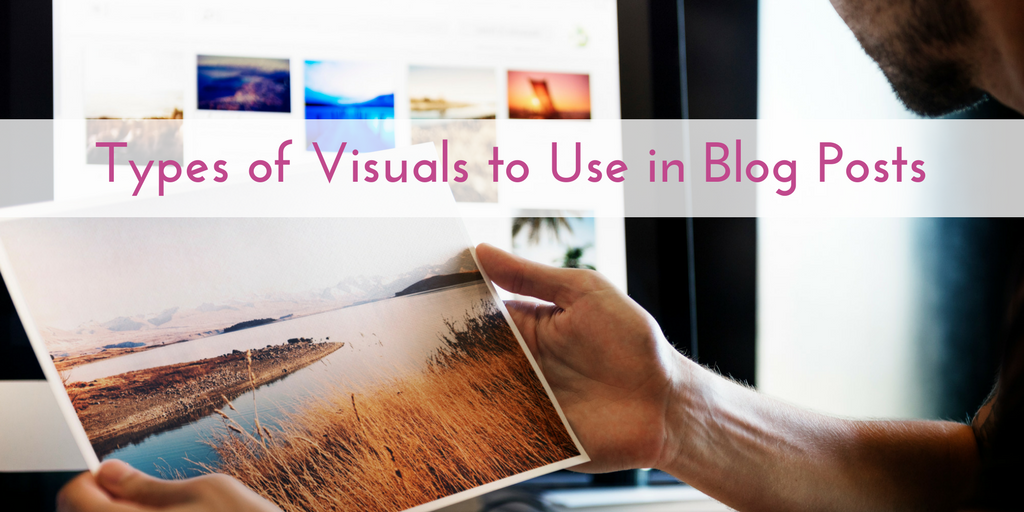 Visuals in Blogs
